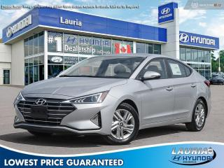 New 2020 Hyundai Elantra Preferred w/Sun & Safety - DEMO w/Snow Tires for sale in Port Hope, ON