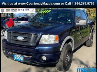 Used 2006 Ford F-150 FX4 4x4 S-Crew 139in WB for sale in Courtenay, BC