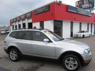 Used 2007 BMW X3 $5,295+HST+LIC FEE / CERTIFIED / PANORAMIC ROOF for sale in North York, ON