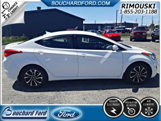 Used 2013 Hyundai Elantra Berline 4 portes, boîte auto GL *Disp. l for sale in Rimouski, QC