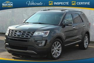 Used 2017 Ford Explorer Limited AWD for sale in Ste-Rose, QC