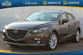 Used 2016 Mazda MAZDA3 GT for sale in Ste-Rose, QC
