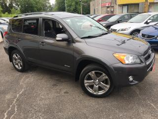 Used 2010 Toyota RAV4 Sport/ AUTO/ 4WD/ LEATHER/ SUNROOF/ BLUETOOTH! for sale in Scarborough, ON