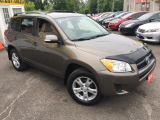 Used 2010 Toyota RAV4 AUTO/ 4WD/ ALLOYS/ TINTED GLASS/ ALLOYS/ LIKE NEW! for sale in Scarborough, ON
