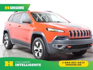 Used 2017 Jeep Cherokee AWD for sale in St-Léonard, QC