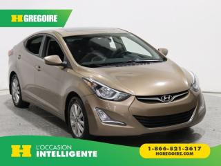 Used 2016 Hyundai Elantra Sport Appearance for sale in St-Léonard, QC