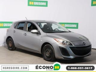 Used 2010 Mazda MAZDA3 GX A/C GR ÉLECT for sale in St-Léonard, QC