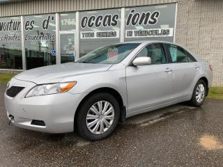 Used 2008 Toyota Camry Le Bas Kilomètrage for sale in Mascouche, QC