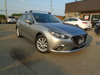 Used 2015 Mazda MAZDA3 AUTO 1 OWNER LOW KM NAVIGATION B-TOOTH B CAMERA for sale in Oakville, ON