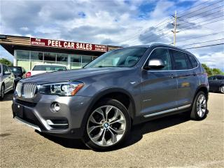 Used 2016 BMW X3 xDrive28d|NAVI|PANOROOF|GREYONBLK for sale in Mississauga, ON