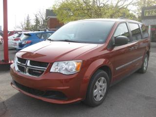 Used 2012 Dodge Grand Caravan SE 3.6L 6cyl AC 7pass PL PM PW for sale in Ottawa, ON