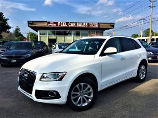 Used 2016 Audi Q5 2.0T PROGRESSIVE|NAVI|PANOROOF|REARVIEW|WHITEONBLK for sale in Mississauga, ON