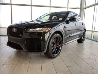 Used 2020 Jaguar F-PACE SVR for sale in Edmonton, AB