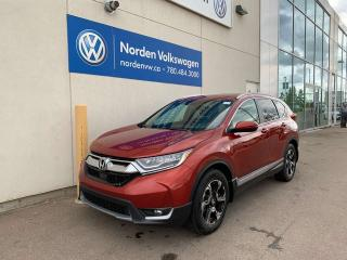 Used 2018 Honda CR-V TOURING AWD - LEATHER / NAVI / SUNROOF for sale in Edmonton, AB