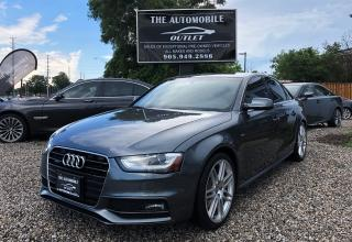 Used 2013 Audi A4 S-LINE Premium quattro AWD NAVI NO ACCIDENT for sale in Mississauga, ON