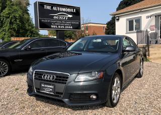Used 2009 Audi A4 LOW KMS NO ACCIDENT for sale in Mississauga, ON