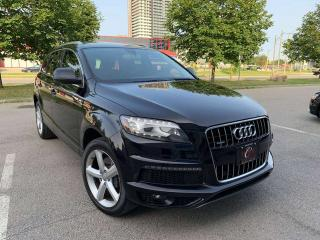 Used 2011 Audi Q7 TDI SLINE NAVI CAM PANO WARRANTY BLND-SPOT DIESEL for sale in Concord, ON
