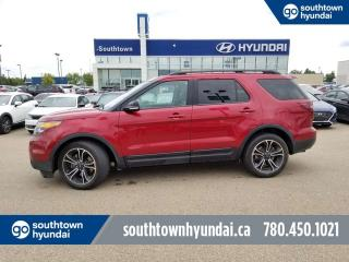 Used 2015 Ford Explorer SPORT/4WD/LEATHER/PANO SUNROOF for sale in Edmonton, AB