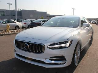 Used 2017 Volvo S90 T6 V6 BLACK INTERIOR WITH NAVIGATION MOONROOF ALL THE BELLS AND WHISTLES!!! for sale in Edmonton, AB