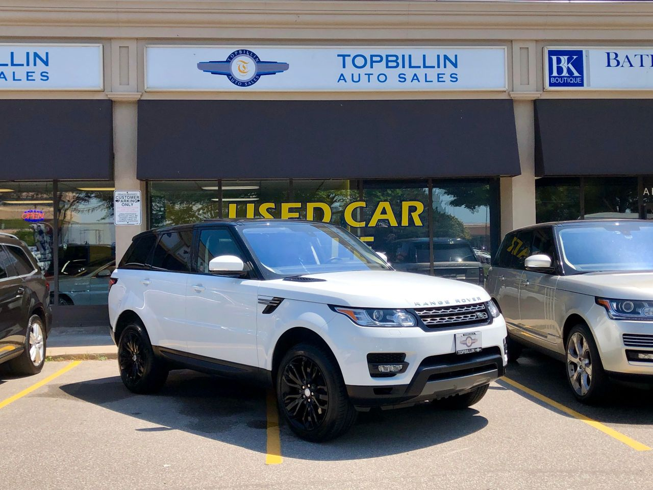 2016 Land Rover Range Rover Sport V6 Gas, Only 52K kms