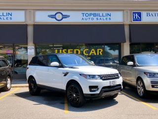 Used 2016 Land Rover Range Rover Sport V6 Gas, Only 52K kms for sale in Vaughan, ON