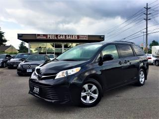 Used 2018 Toyota Sienna LE|8PSNGR|PWEDOORS|REARVIEW for sale in Mississauga, ON