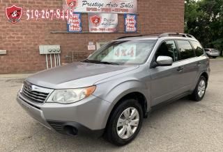 Used 2010 Subaru Forester 2.5X/AWD/ONE OWNER/NO ACCIDENT/SAFETY INCLUDED for sale in Cambridge, ON