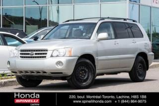 Used 2003 Toyota Highlander V6 AWD for sale in Lachine, QC