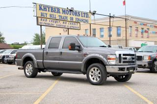 Used 2008 Ford F-250 LARIAT 4X4 6.4L Diesel for sale in Brampton, ON