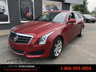 Used 2014 Cadillac ATS Berline 2.0L 4 portes, à prop. for sale in St-Georges-de-Champlain, QC