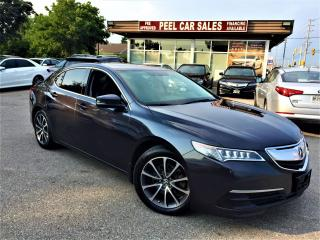 Used 2015 Acura TLX V6 TECH|SH-AWD|NAVI|REARVIEW|LEATHER|98K for sale in Mississauga, ON