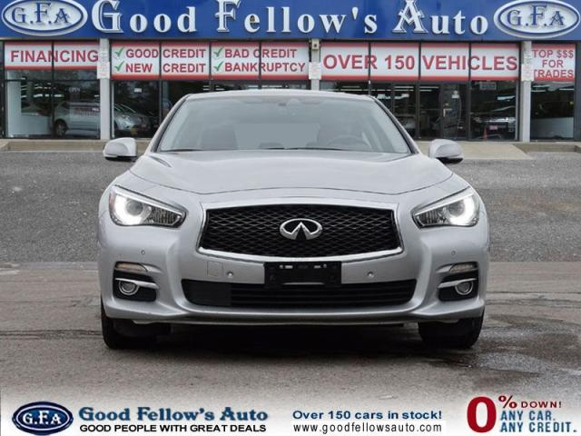 2014 Infiniti Q50 PREMIUM PACKAGE, AWD, LEATHER SEATS, SUNROOF, NAVI