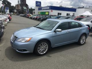 Used 2013 Chrysler 200 Limited for sale in Duncan, BC