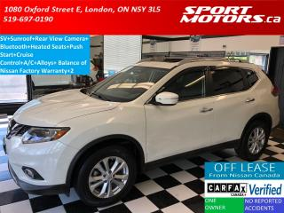 Used 2015 Nissan Rogue SV+Panoramic Roof+Power Heated Seats+Camera+A/C for sale in London, ON