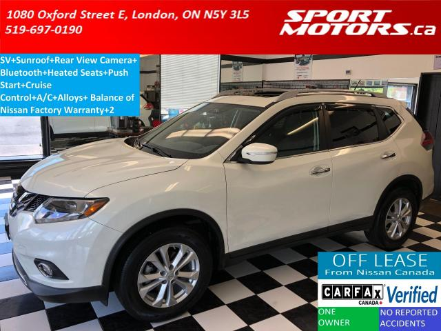 2015 Nissan Rogue SV+Panoramic Roof+Power Heated Seats+Camera+A/C