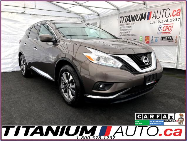 2016 Nissan Murano SV+AWD+GPS+Camera+Panoramic Sunroof+Remote Start