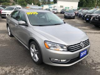 Used 2013 Volkswagen Passat Highline, Diesel for sale in St Catharines, ON