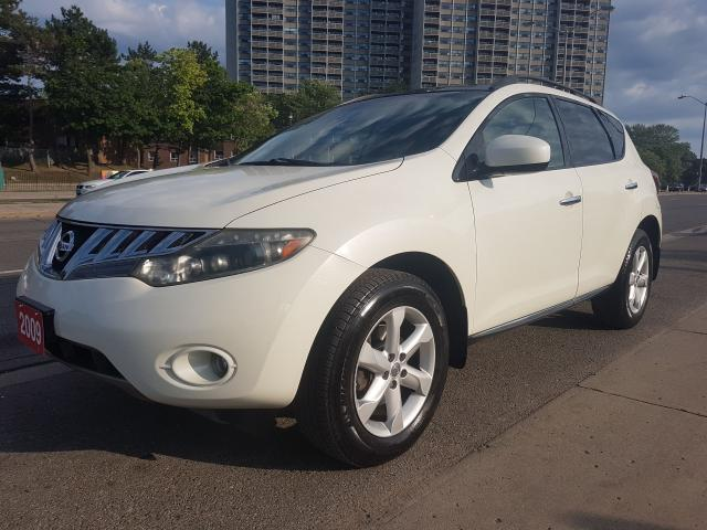 2009 Nissan Murano SL-EXTRA CLEAN -AWD- BK UP CAM-BLUETOOTH-ALLOYS