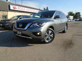 Used 2018 Nissan Pathfinder 4x4 SV Tech NAVIGATION B-TOOTH CLEAN CAR FAX 4 NEW for sale in Oakville, ON