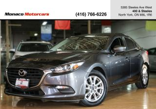 Used 2017 Mazda MAZDA3 GS - BLINDSPOT|BACKUPCAM|NAVIGATION|ALLOYS for sale in North York, ON