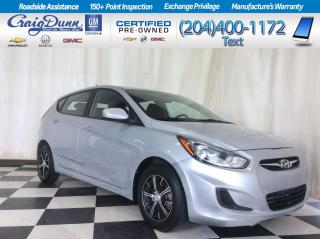 Used 2013 Hyundai Accent * GL Hatchback * REMOTE ENTRY * HEATED SEATS * for sale in Portage la Prairie, MB