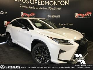 Used 2019 Lexus RX 350 F Sport SERIES 2 for sale in Edmonton, AB