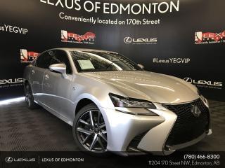New 2019 Lexus GS 350 F sport Series 2 for sale in Edmonton, AB