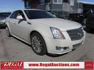 Used 2010 Cadillac CTS 4 Base 4D Sedan 3.6L for sale in Calgary, AB