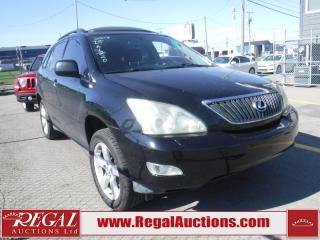 Used 2007 Lexus RX 350 for sale in Calgary, AB