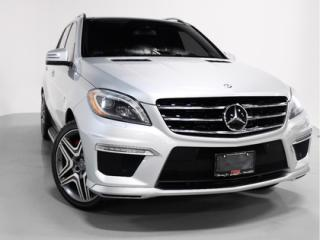 Used 2012 Mercedes-Benz ML-Class ML63 AMG   V8   PANO ROOF   COOLED SEATS for sale in Vaughan, ON