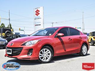 Used 2012 Mazda MAZDA3 GS ~Power Moonroof ~Heated Leather ~ONLY 79,000 KM for sale in Barrie, ON