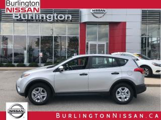Used 2013 Toyota RAV4 LE, AWD, ACCIDENT FREE ! for sale in Burlington, ON