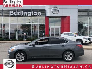 Used 2015 Nissan Altima 2.5 SV, NAVIGATION, ACCIDENT FREE, 1 OWNER ! for sale in Burlington, ON