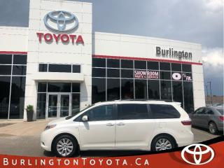 Used 2017 Toyota Sienna LIMITED ALL WHEEL DRIVE for sale in Burlington, ON